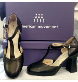 "American Movement Julie Pro T-Strap 3"" Heel"