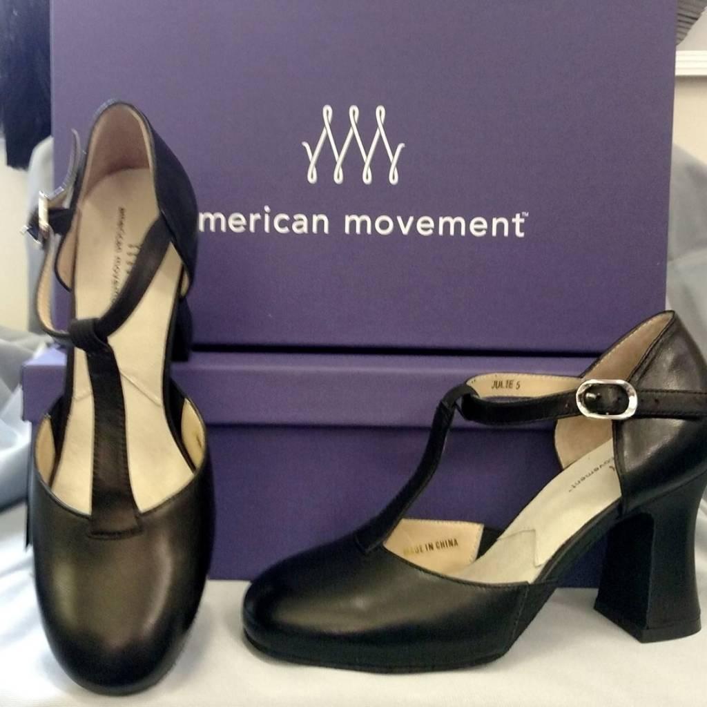 "American Movement Julie Pro T-Strap 3"" Heel"