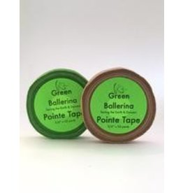 Pointe Snaps Ballet Products Green Ballerina Toe Tape