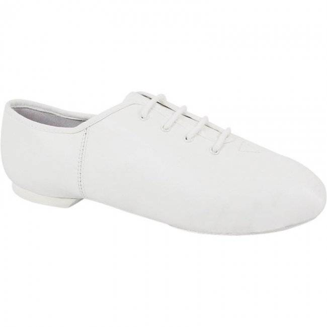 Dance Class Youth White Lace Up Jazz