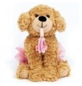 Dasha Designs Dance Puppy w/Ballet Shoes