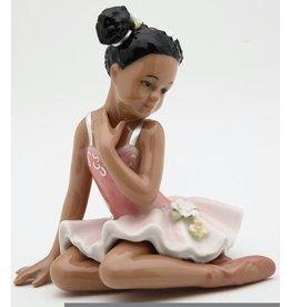 Nutcracker Ballet Gifts Porcelain Figurine Sitting Ballerina