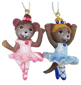 Nutcracker Ballet Gifts Ballerina Mouse Ornament
