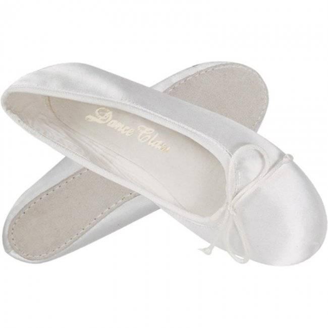 Dance Class Dance Class Youth Satin Ballet Shoe