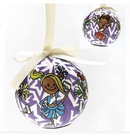 Dasha Designs Blinking Cheer Ornament