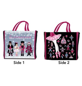 Nutcracker Ballet Gifts Holiday ReUse Ballet ShopBag w/ Characters