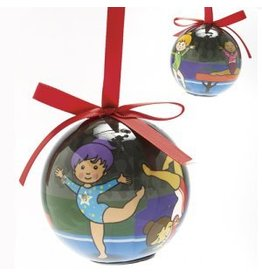 Dasha Designs Blinking Gymnast Ornament