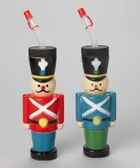C and J Merchantile Nutcracker 12oz Bottle