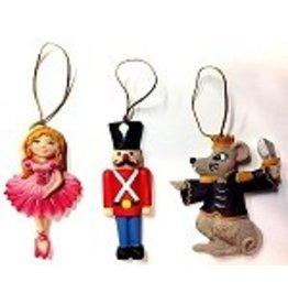 C and J Merchantile Resin Ballerina Ornament