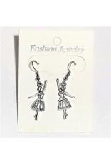 C and J Merchantile Ballerina Earrings