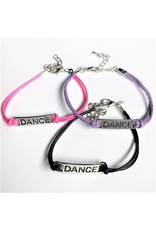 C and J Merchantile Embossed DANCE Bracelet