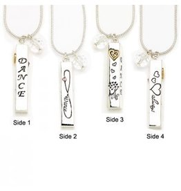 Dasha Designs Dasha Dance Bar Necklace