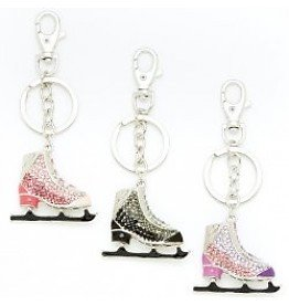 Pillows for Pointes MIS Mini Ice Skate Keychain