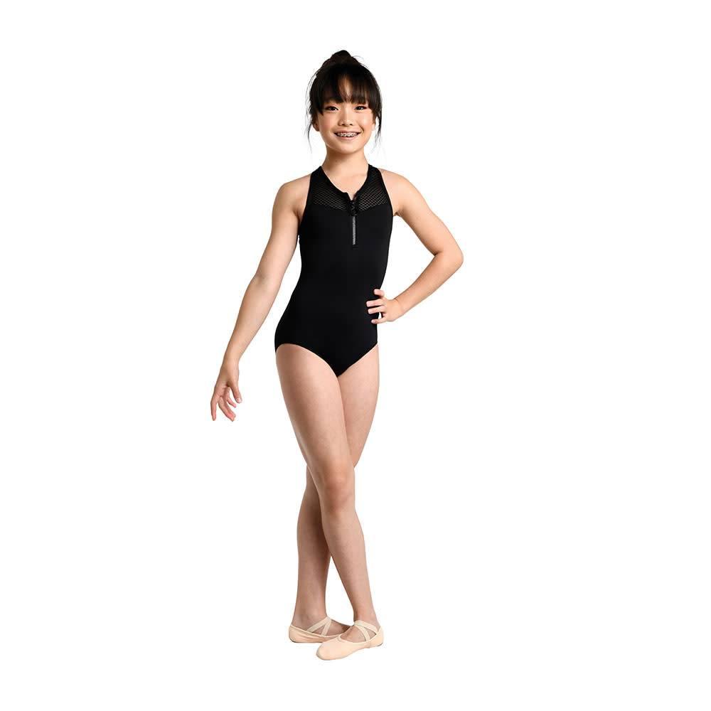 Danshuz Danshuz Girls Athletic Zip Front