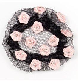 Dasha Designs Dasha Satin Roses w/ Stones Buncover