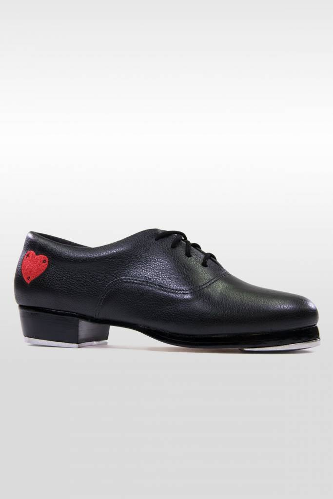 So Danca 805V Women's Professional Tap Shoe with Red Heart