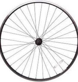 Handbuilt Wheels Rear 26'' Wheel Alex C1000 Silver / JY-434 Silver, 36 Steel spokes, Nutted axle, For freewheel