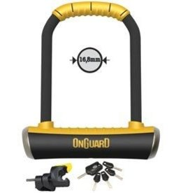 Onguard OnGuard, Brute STD 8001, U-Lock, 111 X 202 X 16.8mm