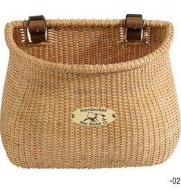 Nantucket Bike Basket Nantucket, Ligthship, Classic Basket, 12''x7.5''x9'', Natural