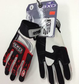 AXO GLOVES, AXO RIDE, RD/BK - S