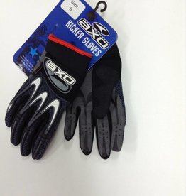 AXO GLOVES, AXO KICKER, Black, Small