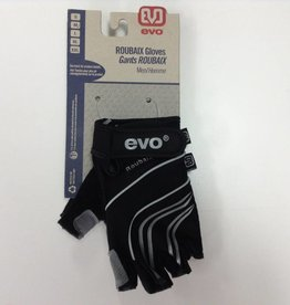 Evo Evo, Roubaix, Men's, Gloves, Black, Medium