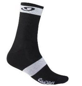 HIGHRISE SOCK BLACK/WHITE XL