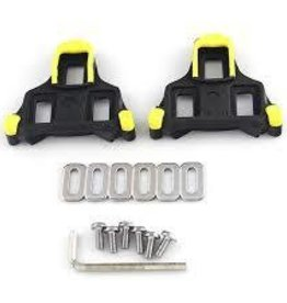 Shimano SPD SL CLEAT SET, SM-SH11, YELLOW, 6 DEGREE PAIR (SELF-ALIGNING MODE)