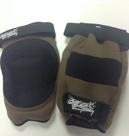 SHADOW CONSPIRACY SHADOW CONSPIRACY, KNEE PADS, medium, Industrial Knee Gaskets, BK/BR