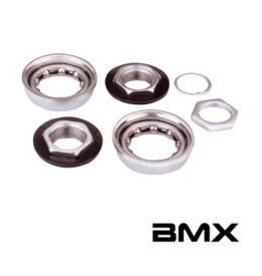 Others Varia, BMX Bottom Bracket For One-Piece Crank Silver