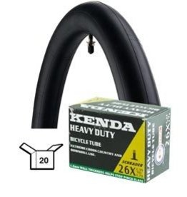 Kenda INNER TUBE, KENDA, Downhill 1.2mm, Tube, Schrader, 35mm, 26x2.35-2.75