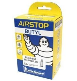 Michelin INNER TUBE, MICHELIN Airstop Butyl, Presta, 52mm, 700x18-23C