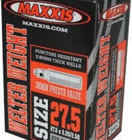 Maxxis INNER TUBE, MAXXIS, WELTER WEIGHT, Presta, 32mm, 27.5x1.90-2.35