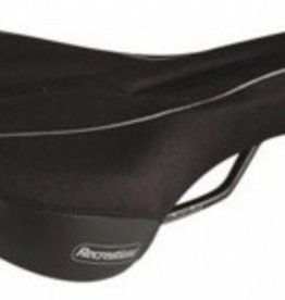 Megasoft Megasoft, Recreational Classic, Saddle, Men's, Lycra, Black