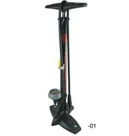 Evo EVO, Hurricane Floor Pump, With gauge, Black