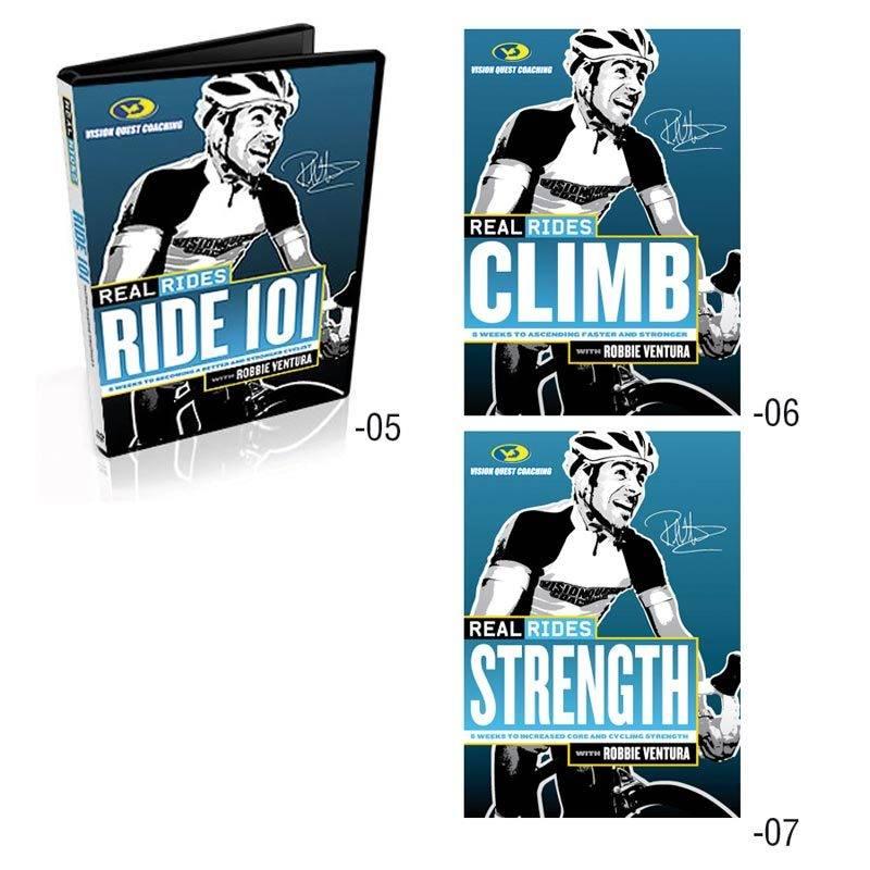 Cycleops CycleOps, RealRides, Indoor Trainer DVD, Strength