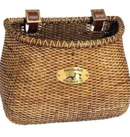 Nantucket Bike Basket Nantucket, Lightship, Classic Basket, 12''X7.5''X9'', Stained