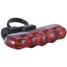 Cat Eye Cat Eye, TL-LD610, Rear, Flashing Light, Red LED's In Black Casing
