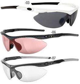 Tifosi Tifosi, Slip, Sunglasses, Frame: Carbon, Lenses: High Speed Red Fototec