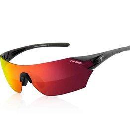Tifosi Tifosi, Podium, Sunglasses, Frame: Matte Black, Lenses: Clarion Red, AC Red, Clear