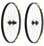 Roues Sun Single Track, SL-1/Formula, 20mm, Front, 24'', DW Eyeleted Black Rim, 32X SS Black
