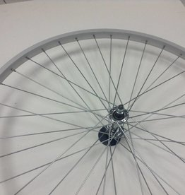 Handbuilt Wheels FRONT, 27'' ALEX C303, WHEEL, Silver, SW/Joy Tech JY-301, 36 Steel Spokes, 5/16'' Bolt-on Axle