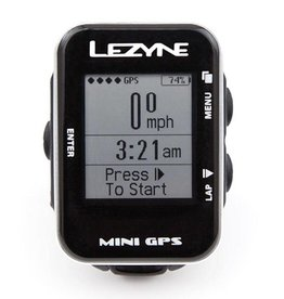 Lezyne Lezyne, Mini GPS, Cyclocomputer,