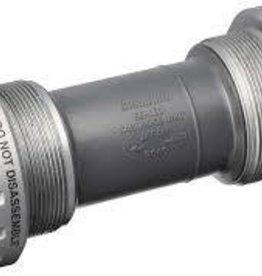 Shimano Shimano, 105, Hollowtech II bottom bracket, BSA, 68mm, 24mm, Steel, Silver, ISMBB5700B