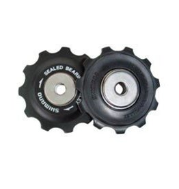 Shimano PULLEY SET, TOURNEY, SHIMANO Y56398100, SET, Sold in pairs, single