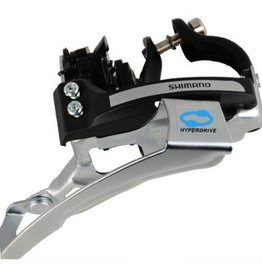 Shimano Shimano, Acera FD-M360, Front derailleur, 3x7/8sp., Top swing 63-66deg, Dual pull, Multi clamp, For 42/48T