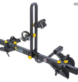 Saris Saris, Freedom, Hitch mounted bike rack, Universal mount, 2 bikes, Black