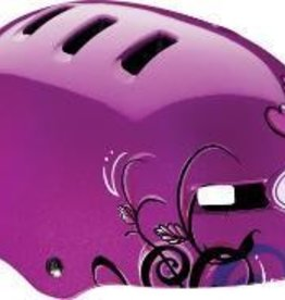 BELL HELMET FRACTION, PURPLE LOVEBIRDS, XS, 48-53CM