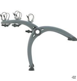 Saris Saris, Bones, Trunk mounted bike rack, 2 bikes, Grey