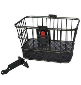 Evo EVO, E-Cargo QR Dual Mesh, Front Basket, Black